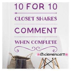 10 for 10 shares